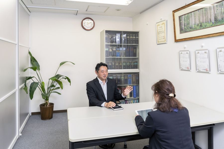 税理士法人益子会計の経営無料相談風景