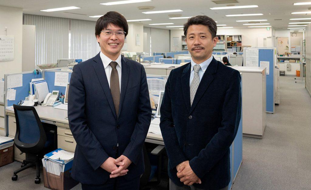 有限会社 山栄建機 代表取締役 蛭田貴之 様と税理士法人益子会計の菅野代表